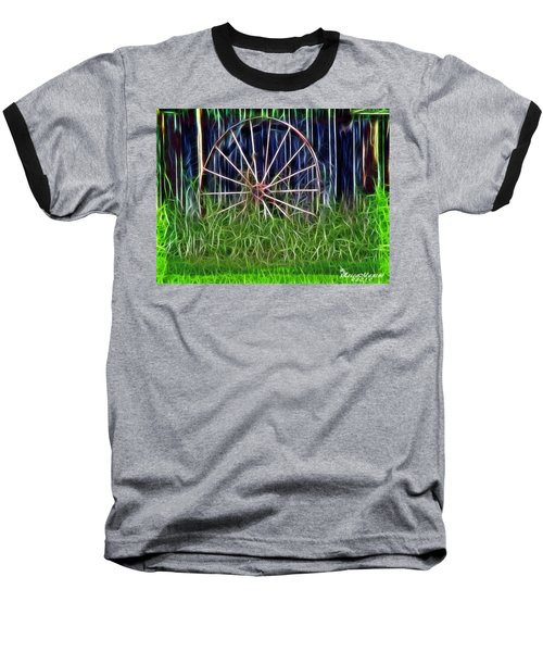 Wheel Of Fortune Baseball T-Shirt by EricaMaxine  Price
