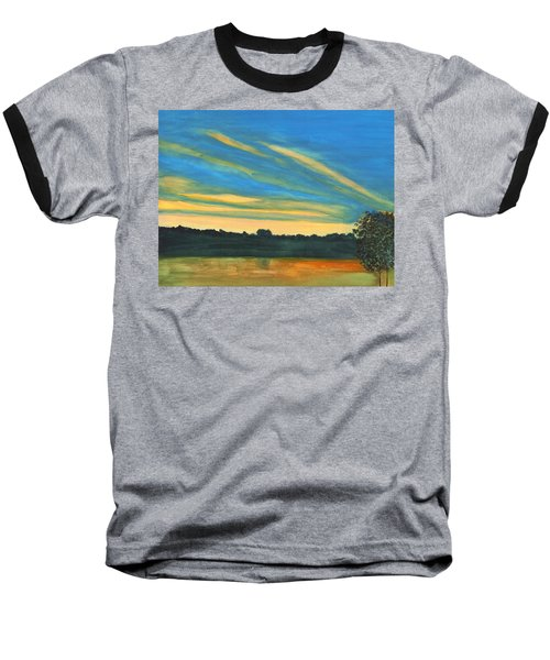 Wheeling Waterfront Baseball T-Shirt