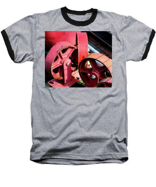 Baseball T-Shirt featuring the photograph Wheels by Cathy Harper