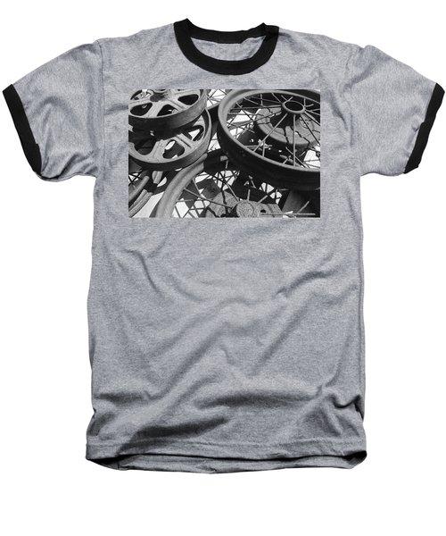Wheels Of Time Baseball T-Shirt by Tim Good