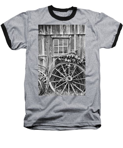 Wheels Wheels And More Wheels Baseball T-Shirt
