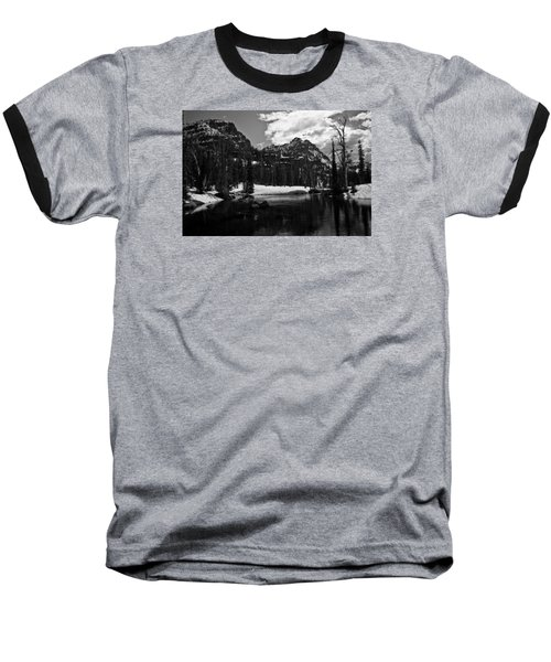 Whelp Lake, Mission Mountains Baseball T-Shirt