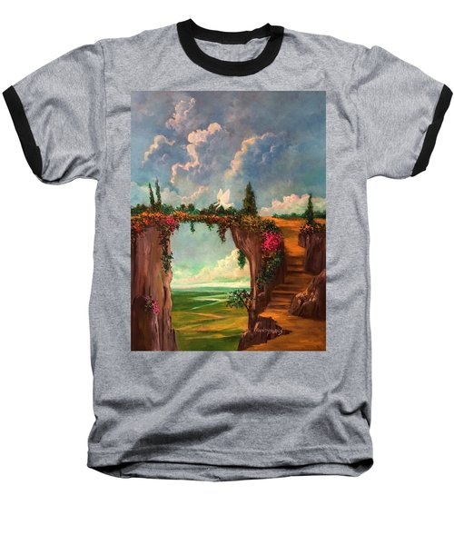 When Angels Garden In Heaven Baseball T-Shirt