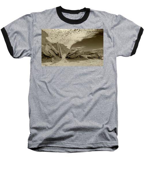 When God Cuts Slices..... Baseball T-Shirt