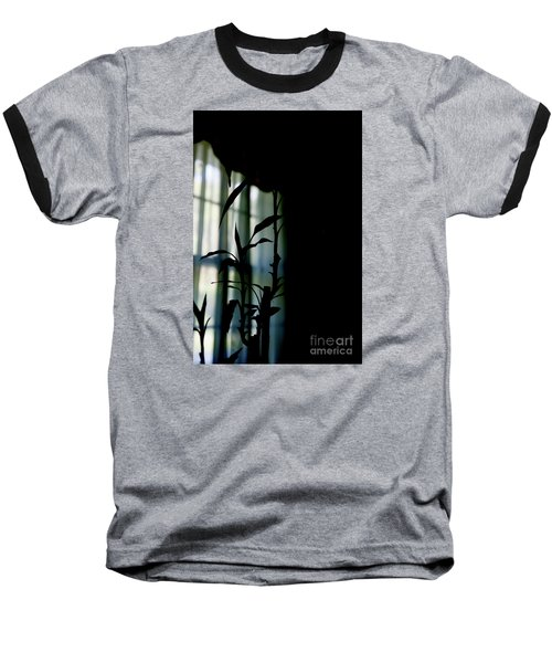 Baseball T-Shirt featuring the photograph When It Wears The Blue Of May by Linda Shafer