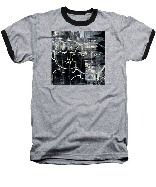 When The Goings Get Tough 50x50 Print By Erod Baseball T-Shirt