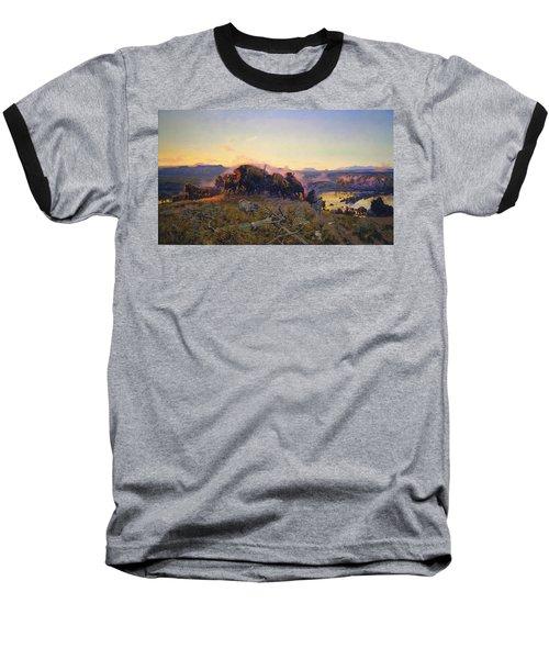 When The Land Belonged To God Baseball T-Shirt