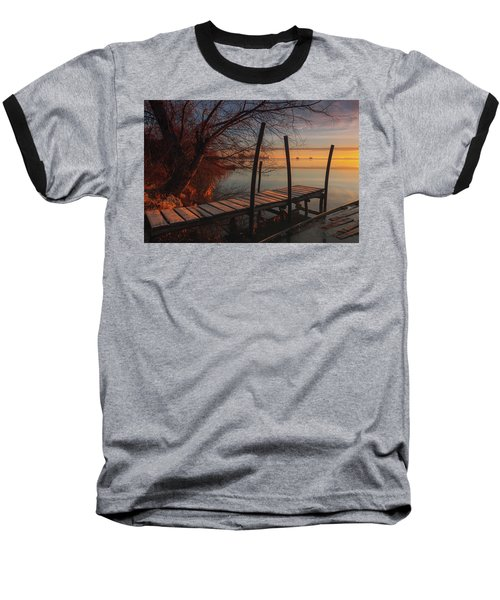 When The Light Touches The Shore Baseball T-Shirt
