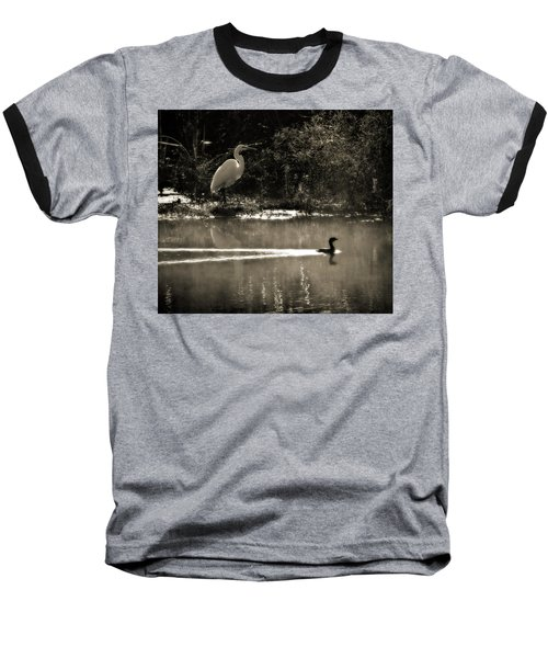 When The Morning Fog Lifted Baseball T-Shirt