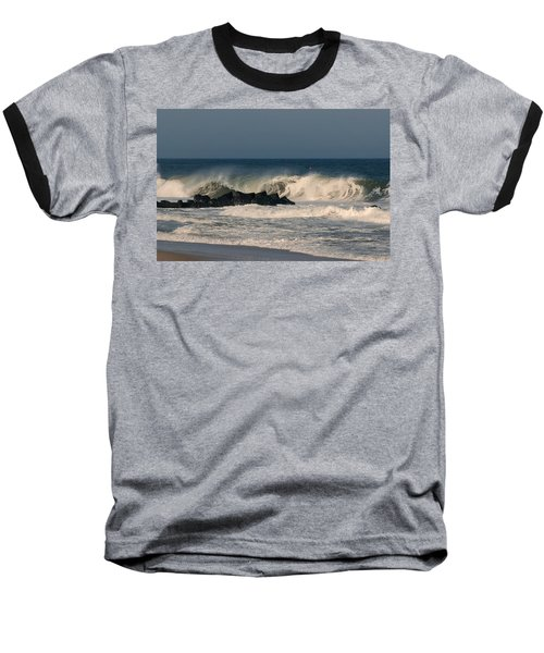 When The Ocean Speaks - Jersey Shore Baseball T-Shirt