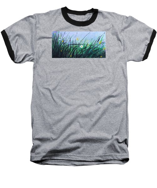 When The Rain Is Gone Baseball T-Shirt by Kume Bryant