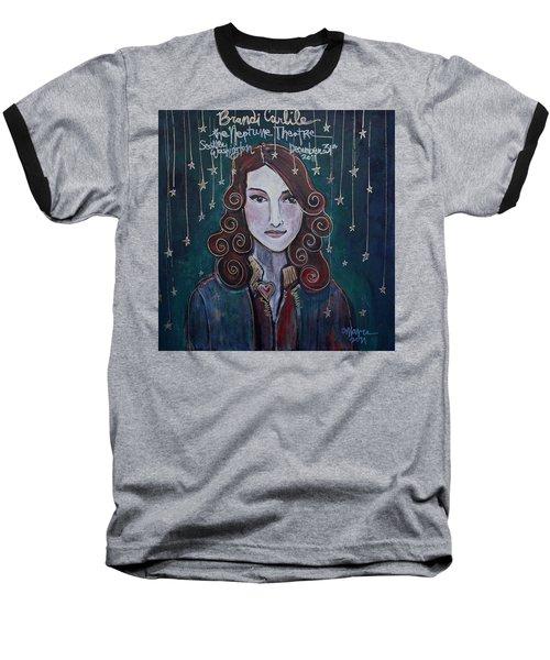 When The Stars Fall For Brandi Carlile Baseball T-Shirt
