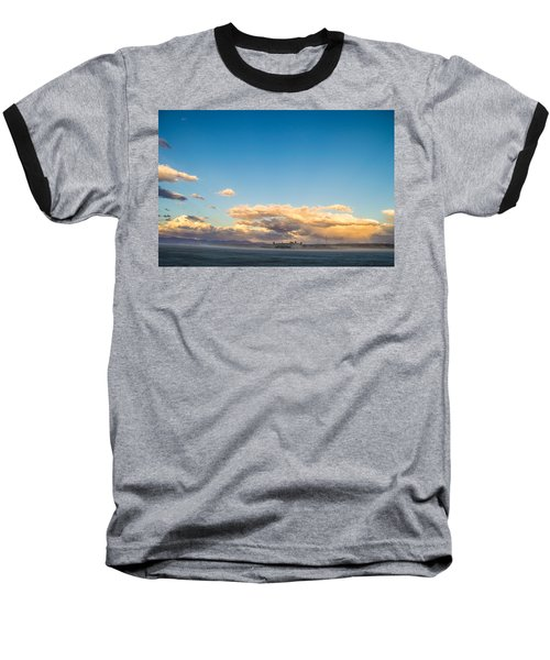 When The Sun Goes Down Baseball T-Shirt