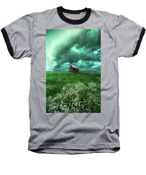 Baseball T-Shirt featuring the photograph When The Thunder Rolls by Phil Koch