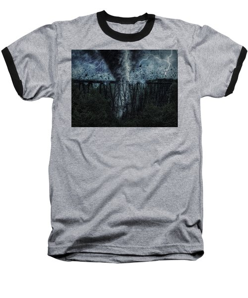 When The Tornado Hit The Bridge Baseball T-Shirt
