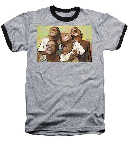 When We Were Boys Baseball T-Shirt