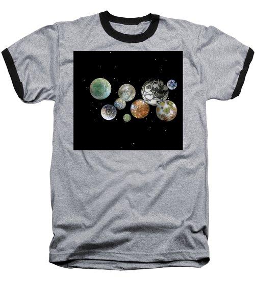 When Worlds Collide Baseball T-Shirt