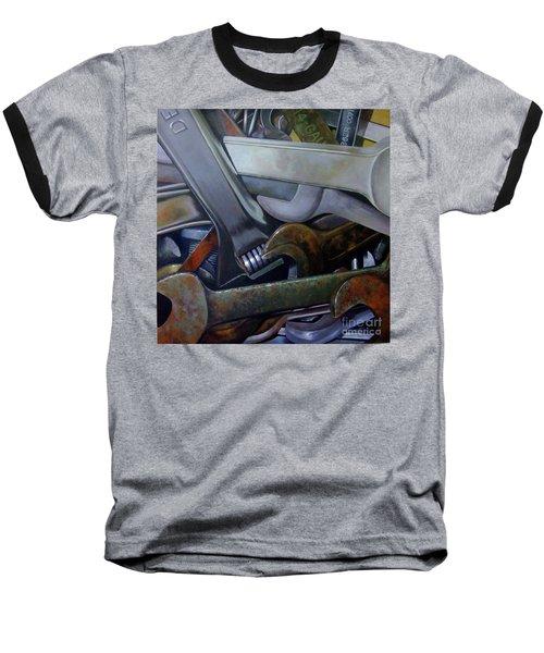 Where Have All The Mechanics Gone Baseball T-Shirt