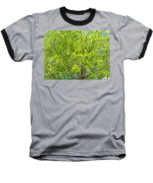 Where All The Green Things Are Baseball T-Shirt