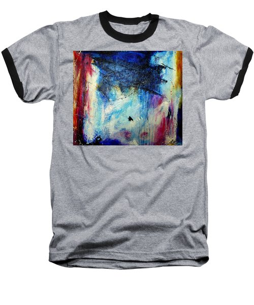 Where Does The Time Go Baseball T-Shirt by Tracy Bonin