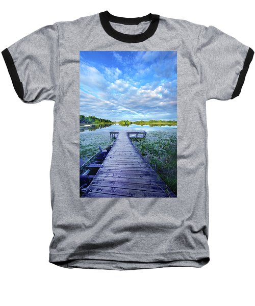 Where Dreams Are Dreamt Baseball T-Shirt by Phil Koch