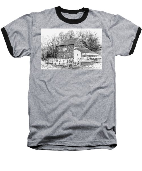 Where Have All The Farmers Gone Baseball T-Shirt by Judy Wolinsky