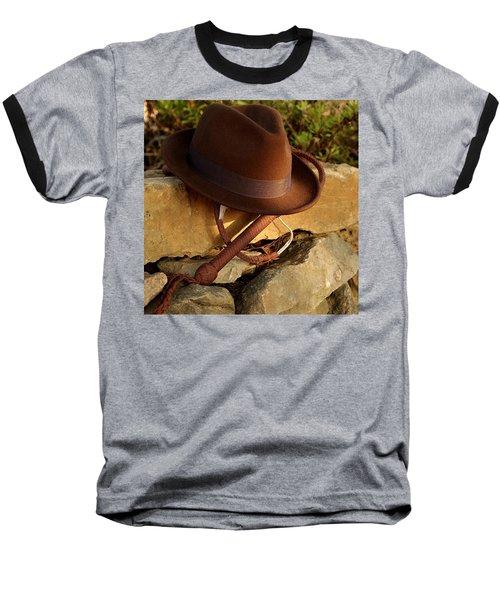 Where Is Indiana? Baseball T-Shirt