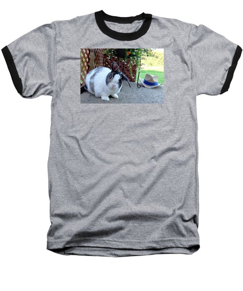 Baseball T-Shirt featuring the photograph Where Is My Hat? by Vicky Tarcau