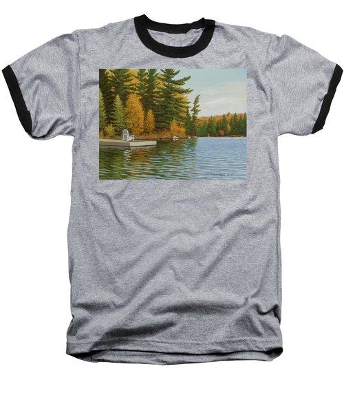 Where Life Is Easy Baseball T-Shirt