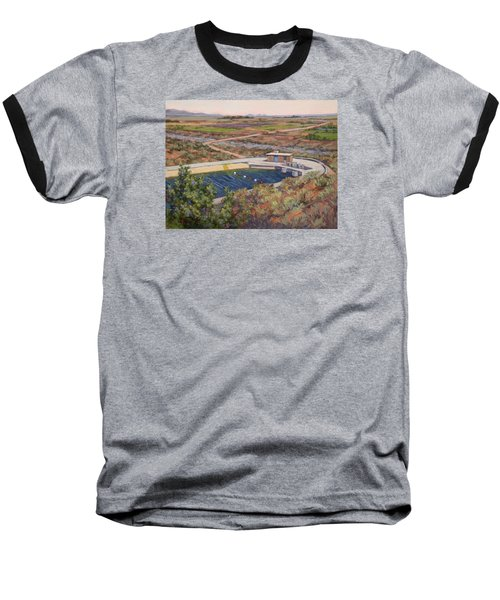Where The Aqueduct Goes Underground Baseball T-Shirt by Jane Thorpe