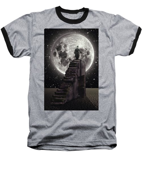 Where The Moon Rise Baseball T-Shirt
