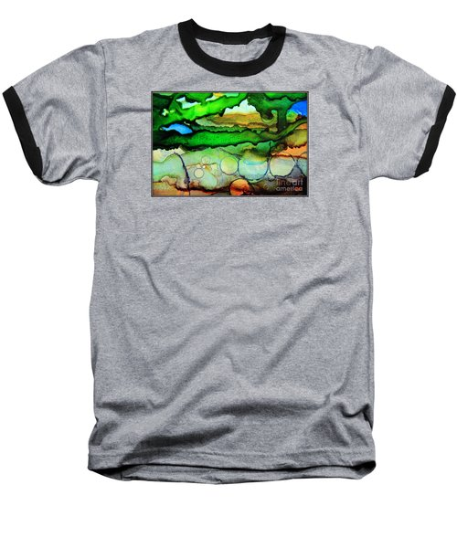 Where The Rivers Flow.. Baseball T-Shirt