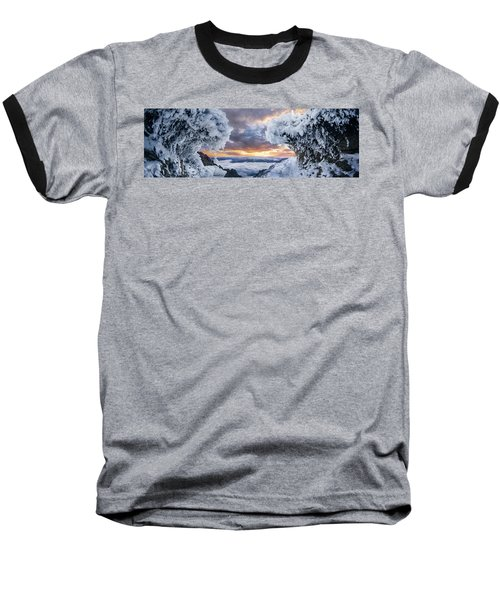 Where The Waves Collide Baseball T-Shirt