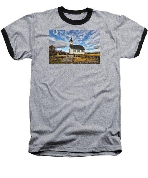 Where The Worlds Meet Baseball T-Shirt