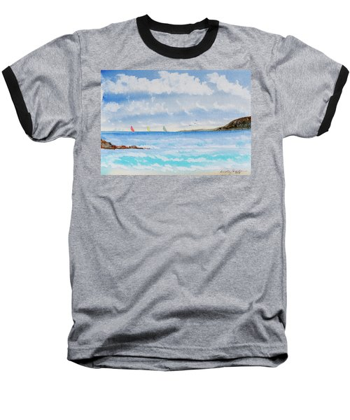 Where There's A Wind, There's A Race Baseball T-Shirt