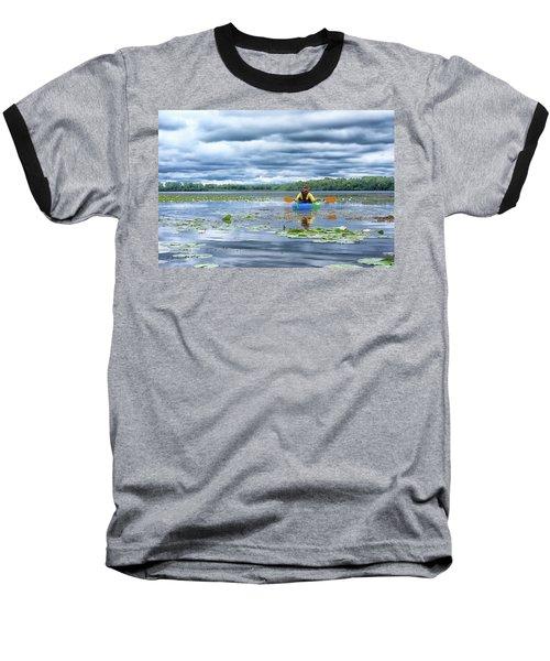 Where We Belong Baseball T-Shirt by Pamela Williams