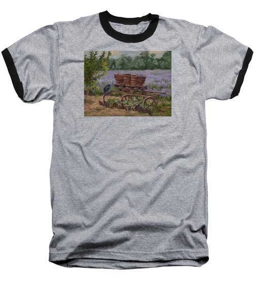 Where's The Seed? Baseball T-Shirt by Jane Thorpe
