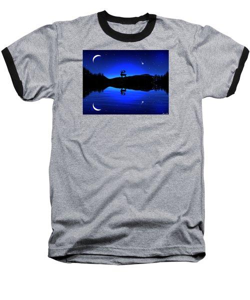 Baseball T-Shirt featuring the digital art Wherever I May Roam by Bernd Hau