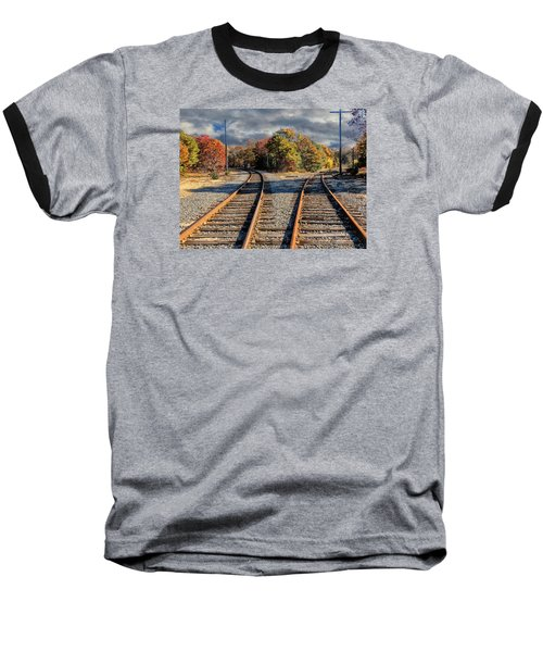 Baseball T-Shirt featuring the photograph Which Way by Constantine Gregory