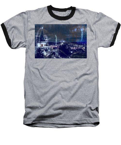 Whimsical Budapest Baseball T-Shirt