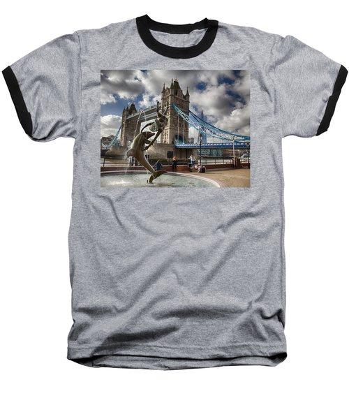 Whimsy At Tower Bridge Baseball T-Shirt