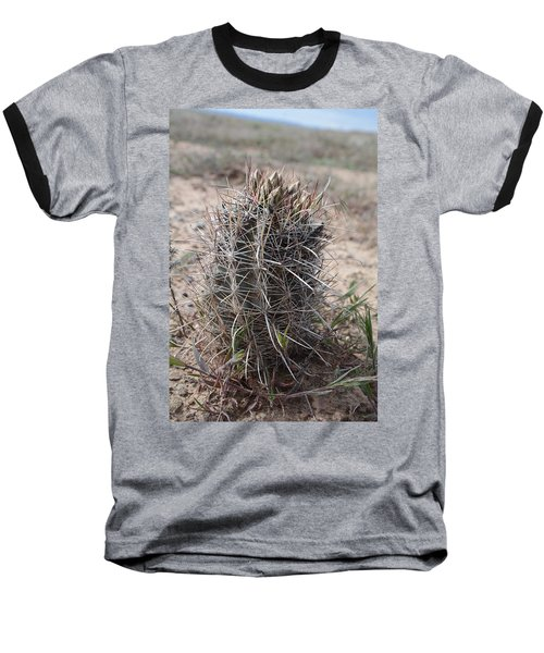 Baseball T-Shirt featuring the photograph Whipple's Fishook Cactus by Jenessa Rahn