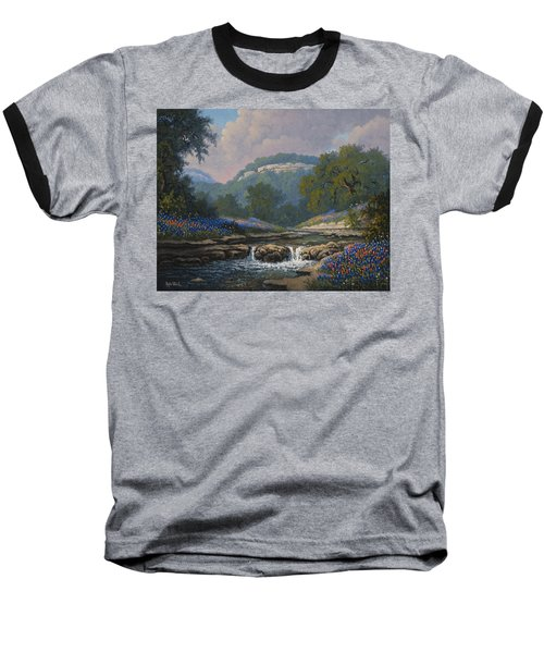Whispering Creek Baseball T-Shirt by Kyle Wood