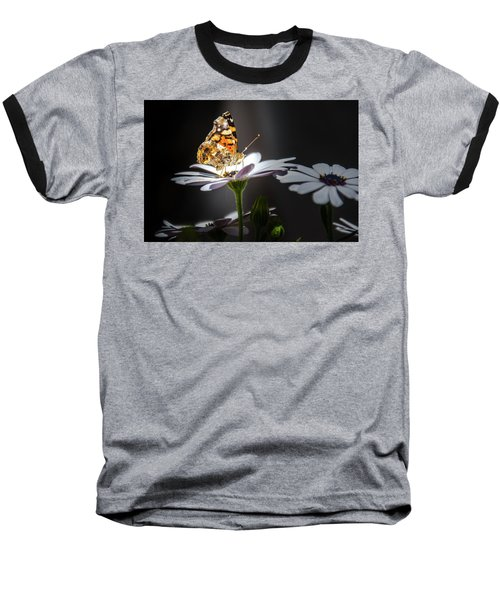 Whispering Wings II Baseball T-Shirt by Mark Dunton
