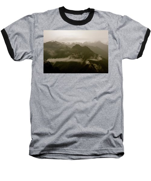 Whispers In The Andes Mountains Baseball T-Shirt