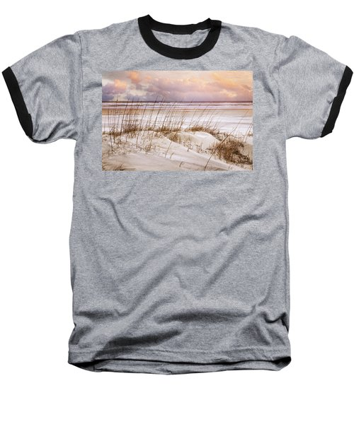 Baseball T-Shirt featuring the photograph Whispers In The Dunes by Debra and Dave Vanderlaan