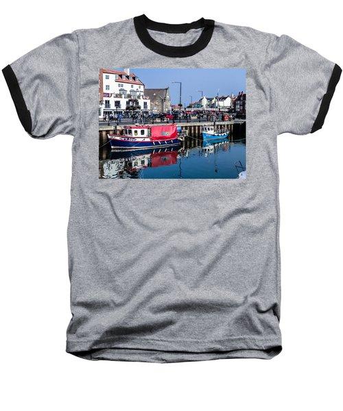 Whitby Harbor, United Kingdom Baseball T-Shirt