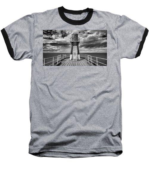 Whitby Pier Baseball T-Shirt