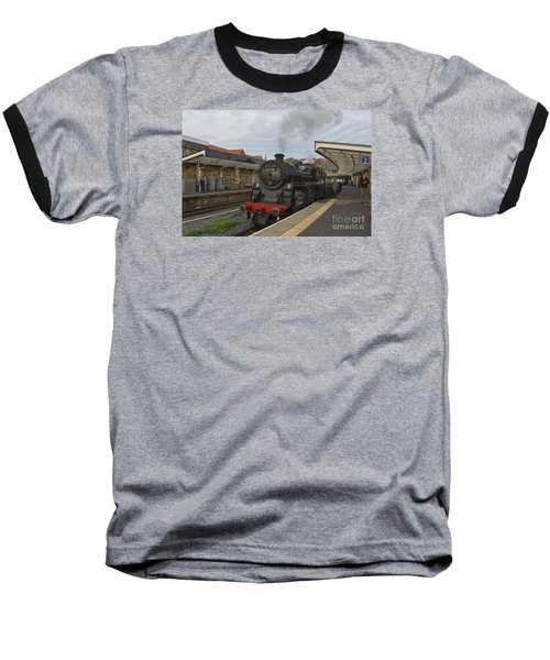 Whitby Station Baseball T-Shirt
