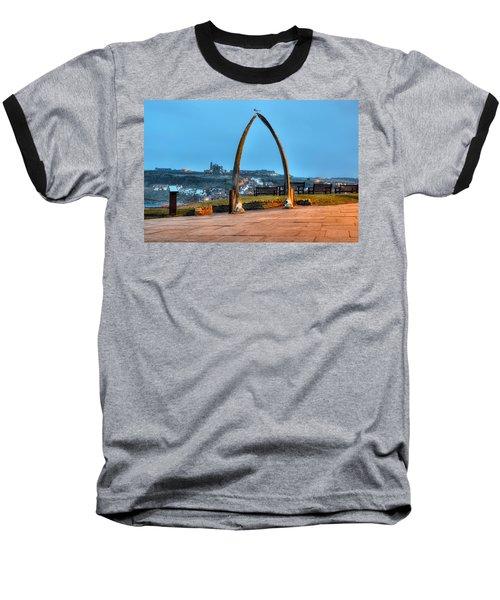 Whitby Whalebone Blue Hour Baseball T-Shirt